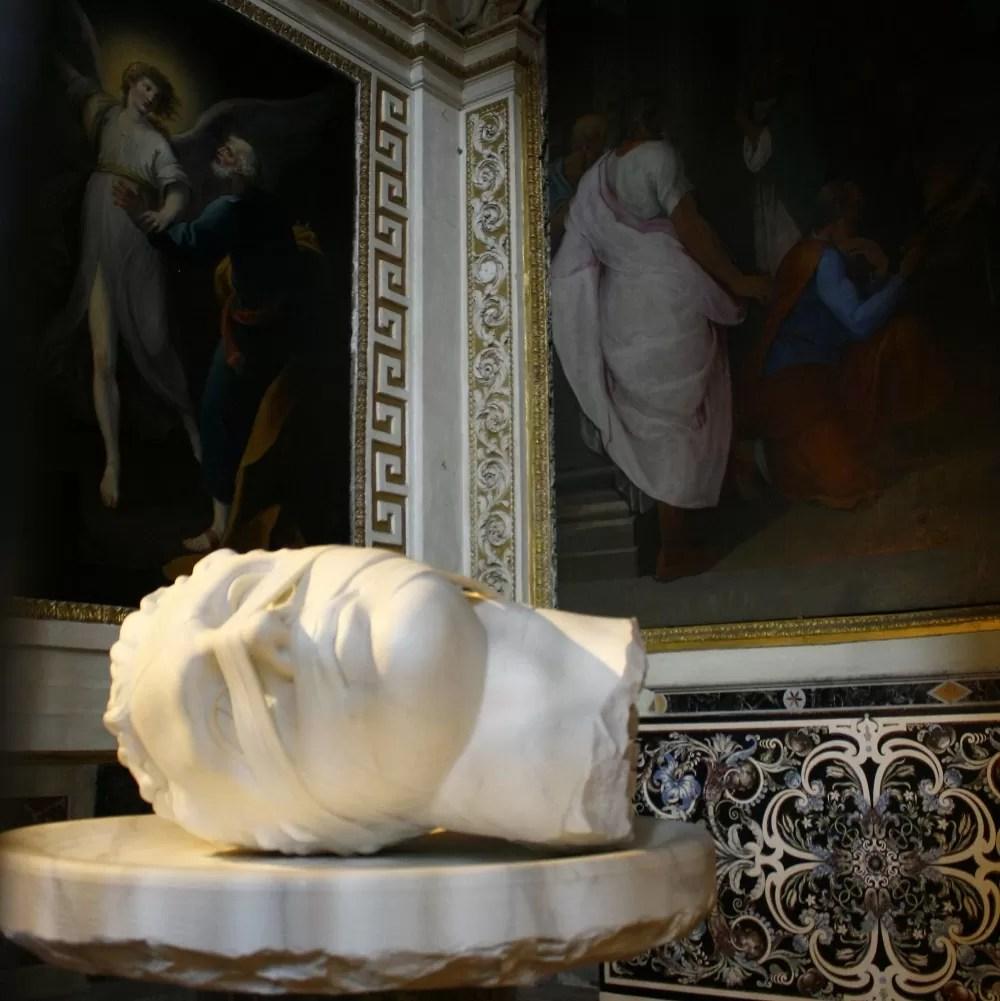 atrakcje rzymu, co warto zobaczyć w rzymie, Igo Mitoraj, nieznane miejsca w Rzymie, Rzym ciekawe miejsca, rzym zwiedzanie, kościół il gesu, bazylika matki bożej anielskiej i męczenników, rzym zabytki, zabytki rzymu, co warto zwiedzić w Rzymie, Igo Mitoraj
