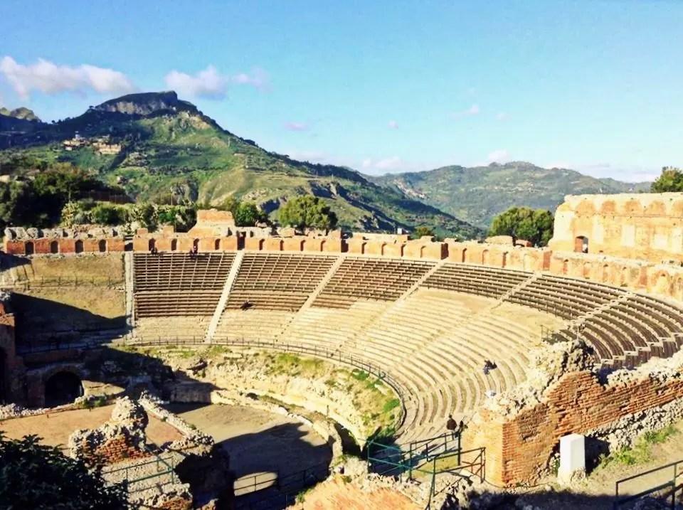 Taormina, teatr w Taorminie