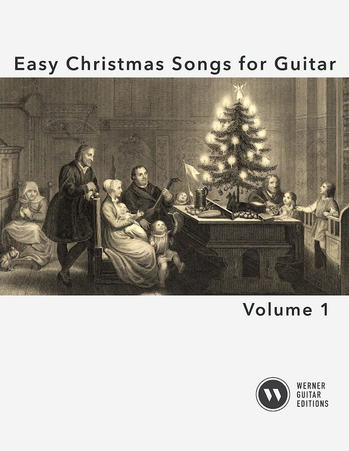 Easy Christmas Songs for Guitar 1