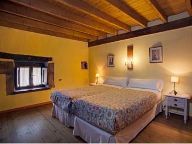 Schlafzimmer von Ferienwohnung für 8 Personen