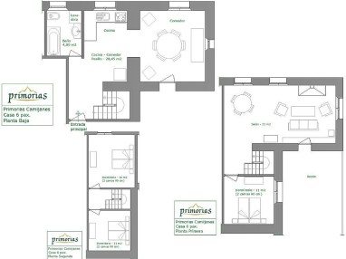 Holiday house for 6 people in Camijanes plans