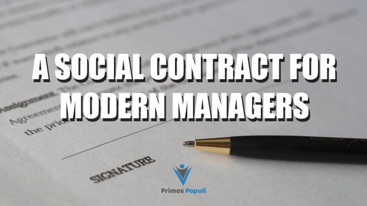 A Social Contract for Modern Managers