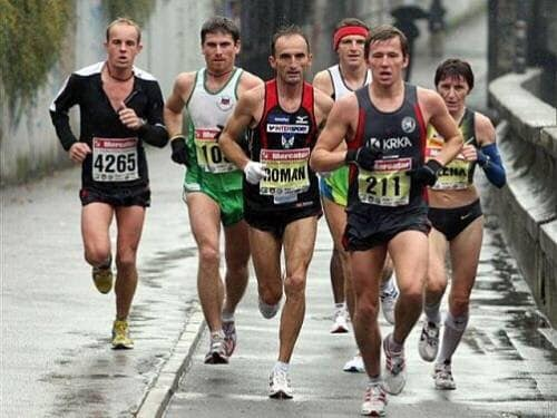 Leta 2008 sem tekel Berlinski maraton 2:29:23, čez pet tednov pa sem bil malo razočaran z 2:38
