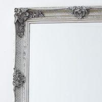 Decorative Antique Silver Full Length Mirror  Primrose & Plum