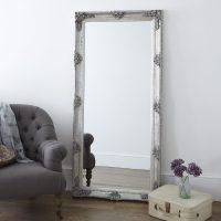 Decorative Antique Silver Full Length Mirror     Primrose ...