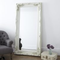 Decorative Cream Full Length Mirror | | Primrose & Plum