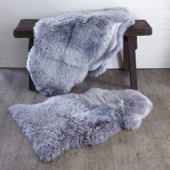 Plum Sofas Uk Single Recliner Sofa Bed Luxurious Light Grey Sheepskin Rug – Primrose &