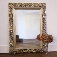 Fleur Decorative Gold Wall Mirror | | Primrose & Plum