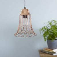 Modern Wire Pendant Light LED Compatible - Wire Pendant ...