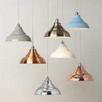Vintage Metal Pendant Lampshade