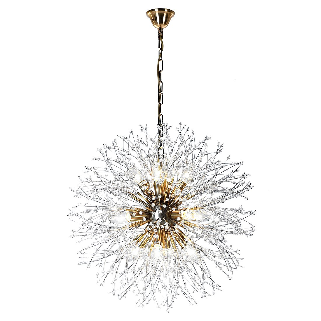 Starburst Crystal Chandelier