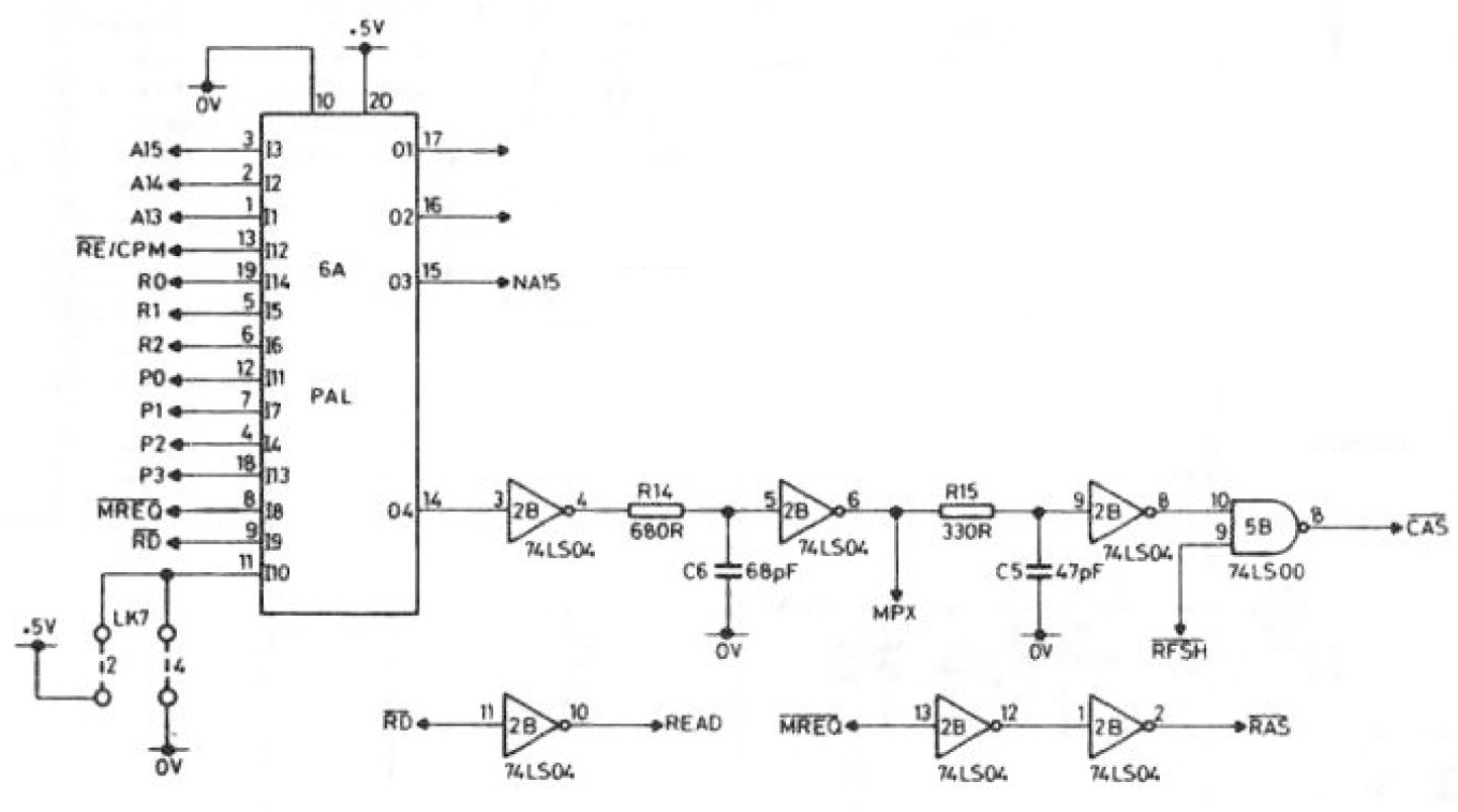 hight resolution of the pal circuit