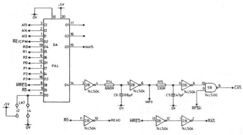 small resolution of the pal circuit