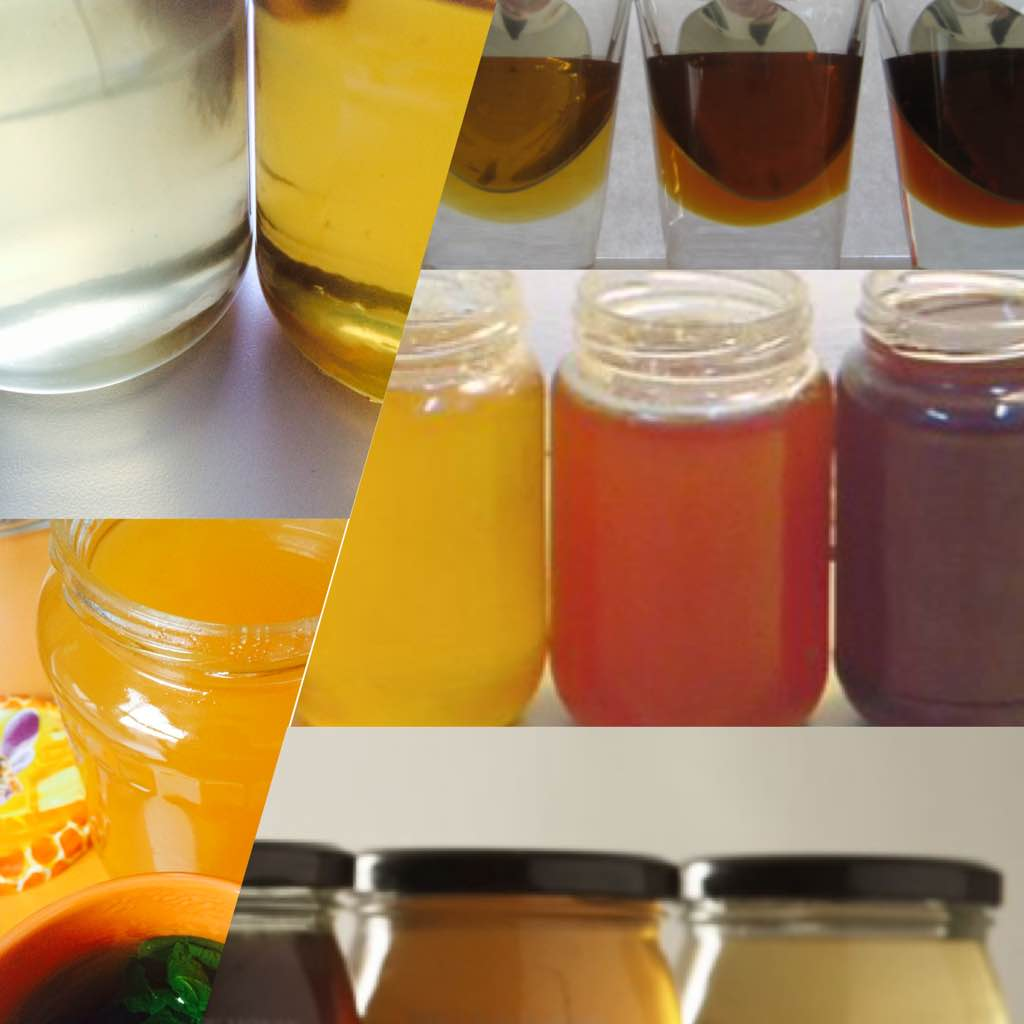 Honey has a rich palette of colours and…. flavours