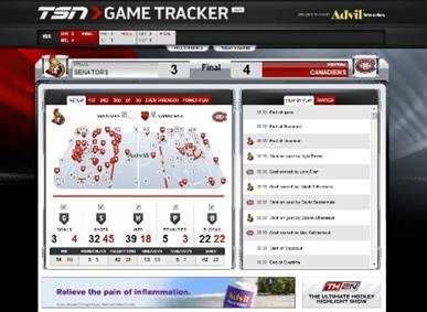 TSN GameTracker