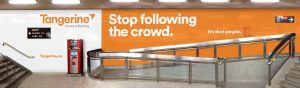 TANGERINE - Tangerine launches advertising campaign