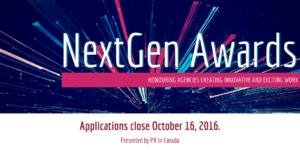 NextGen Awards - Applications Close