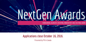 NextGen Awards - Applications Close