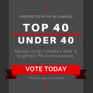 PR In Canada Top 40 Under 40