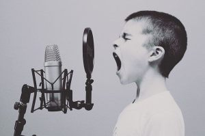 Kid microsphone