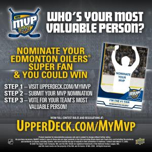 Upper Deck - #MyMVP Nomination
