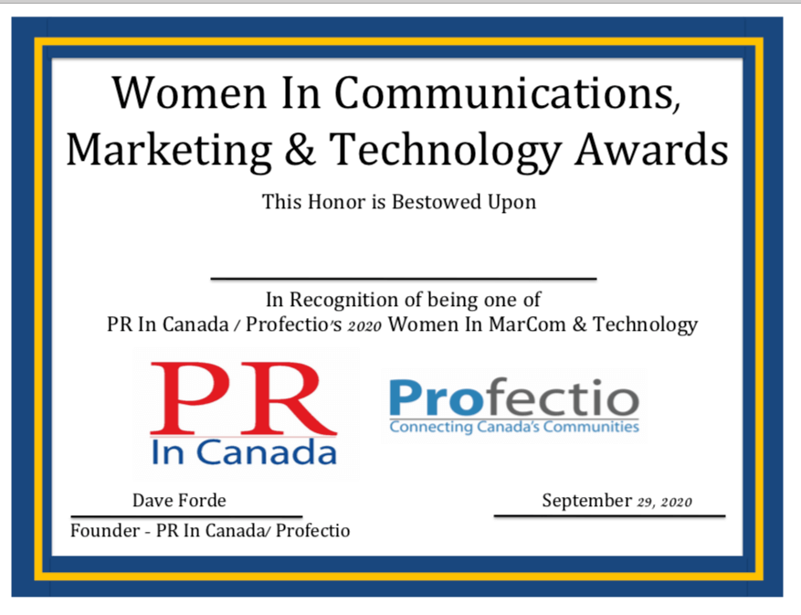 Women In Communications & Marketing Awards