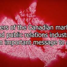 PR In Canada - COVID-19 PSA