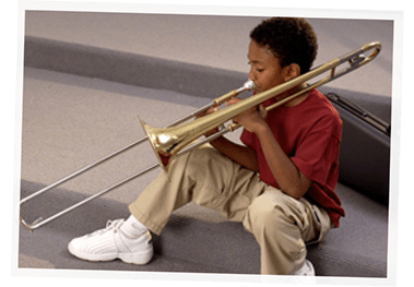 student trombone lessons