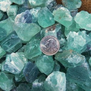 Green Flourite crystal healing for sale
