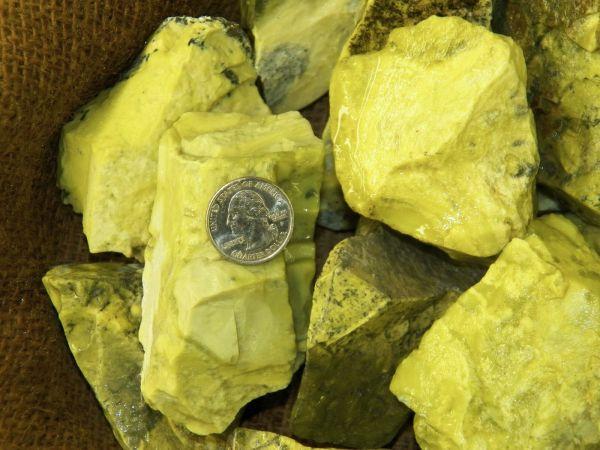 Serpentine high energy stone