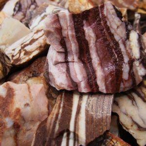 zebra jasper stones