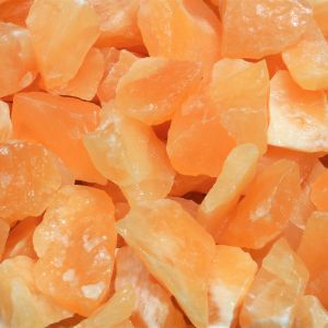 Orange calcite healing crystals energy