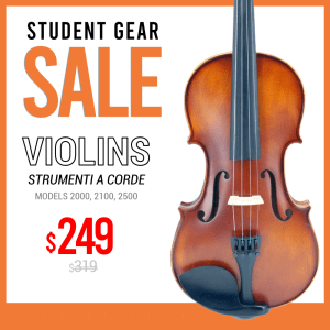 Daily Deal - violin - strumenti a corde