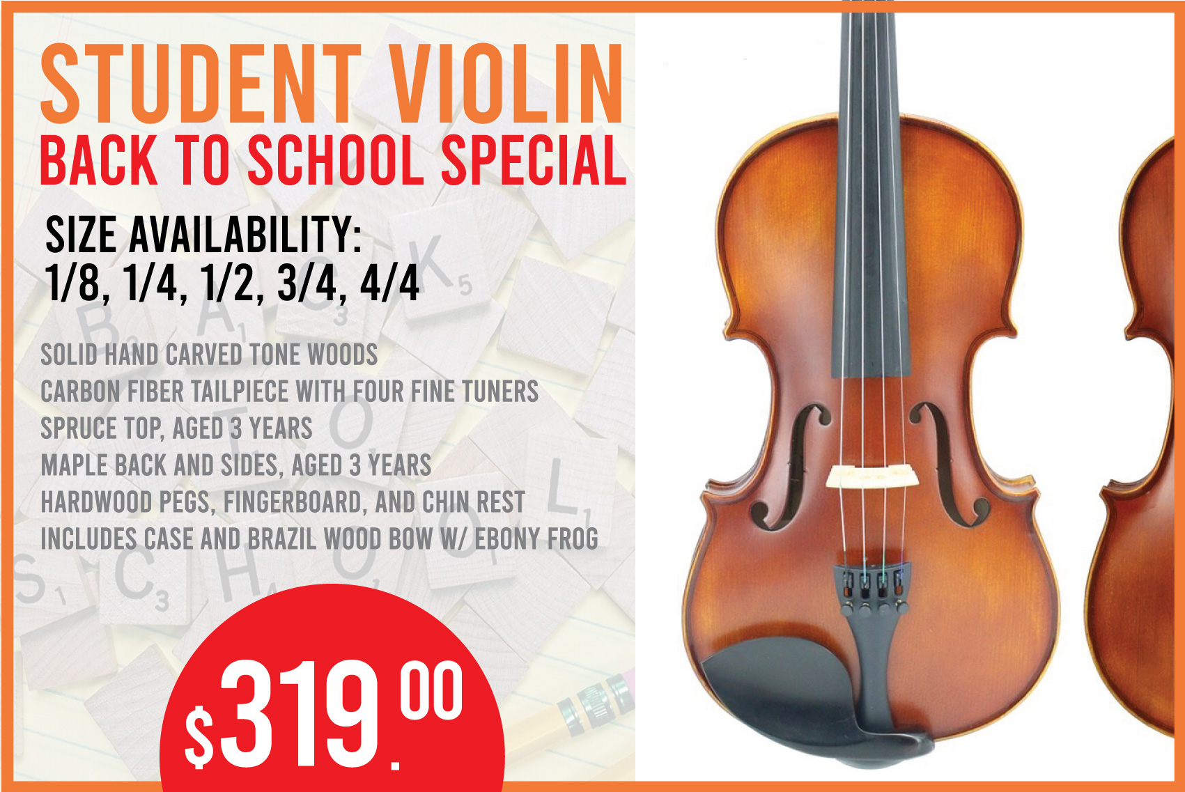 Back to School! -- Student Violin