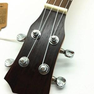 electric rosewood ukulele