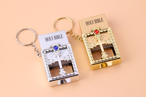 Holy Bible keychain