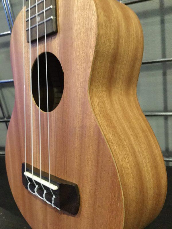 Plain Unfinished sapele ukulele