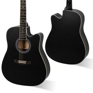 Lindstrom acoustic guitar cutaway st paul minnesota prince music company