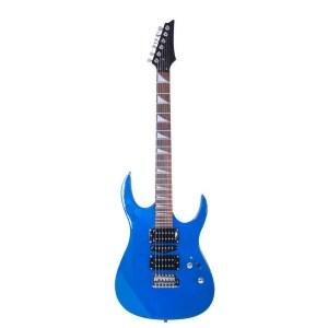 Mars Guitar electric guitar in electric blue