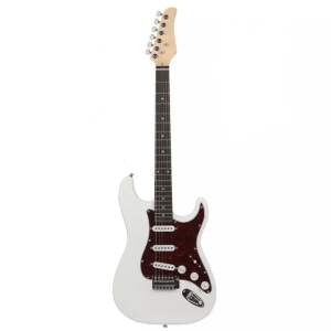 Gephardt marble electric guitar white