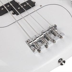 White bass guitar Gephardt Array