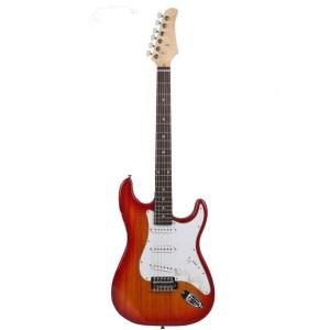 Gephard Ground Series Elecrtic Guitar in RedBurst
