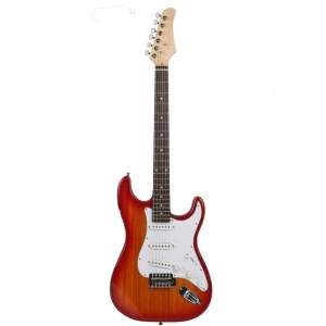 Gephard Ground Series Elecrtic Guitar in RedBurst