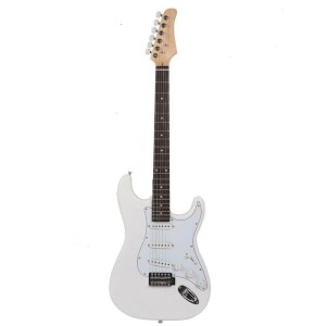 Gephardt Ground Series All White Electric Guitar