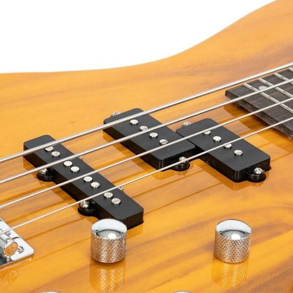 Gephardt One Bass Guitar Natural Yellow