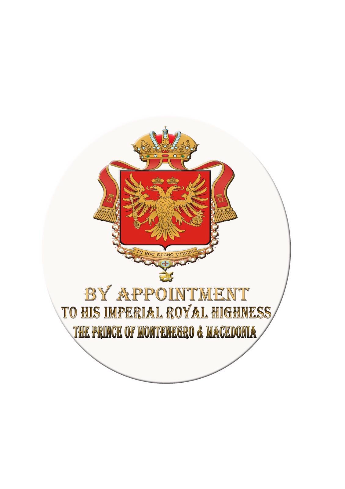IMPERIAL ROYAL ARMS  Fornitori Ufficiali della Casa Imperiale e Reale