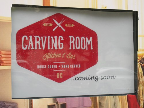 PoPville  Carving Room Kitchen and Bar Still Coming to Mt