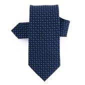 Γραβάτα Μπλε με Μικροσχέδιο (Φάρδος 7 cm)