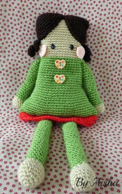 muñeca-crochet-handmade