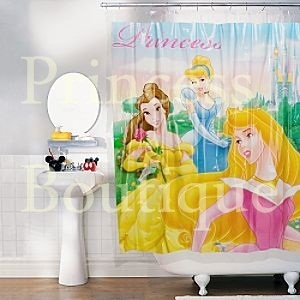 Cortina De Bao Princesas Disney Store O  Decoracin